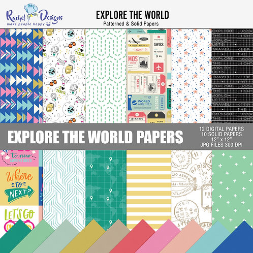 Explore The World - Papers