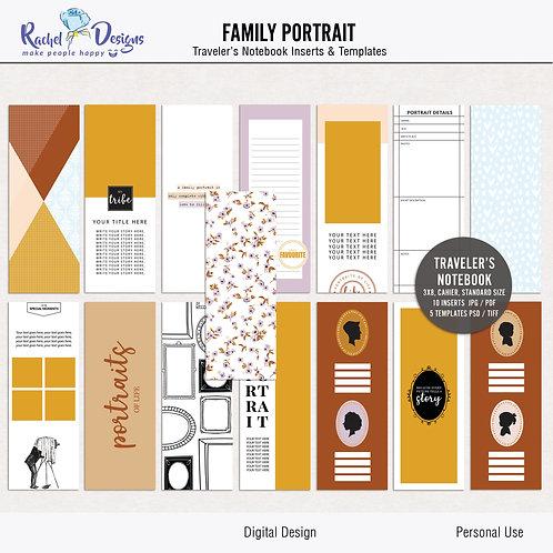 Family Portrait - Traveler's Notebook
