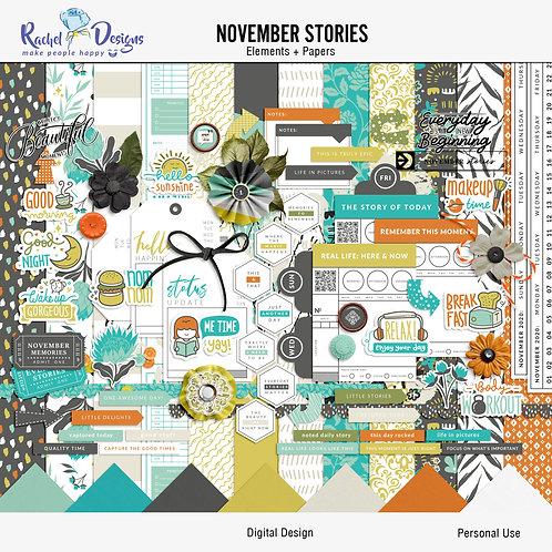 November  Stories - Kit