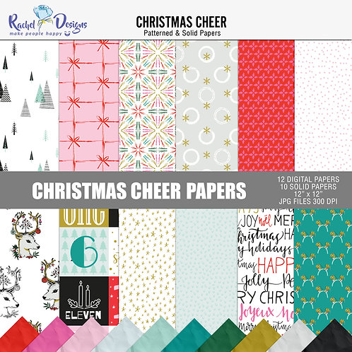 Christmas Cheer  - Papers