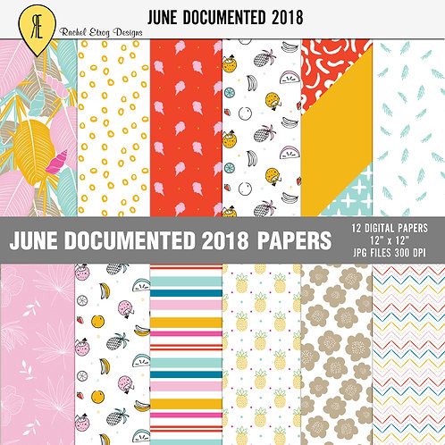 June Documented 2018 - Papers