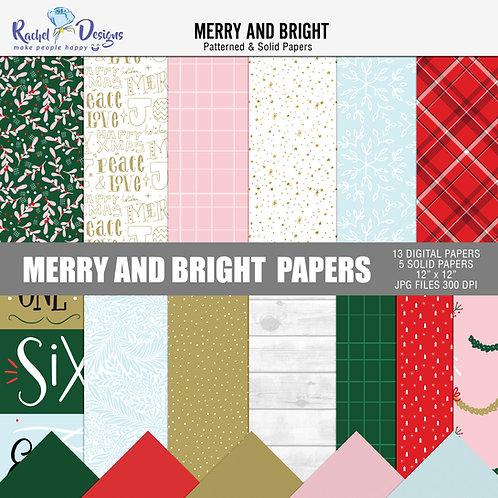 Merry And Bright - Papers