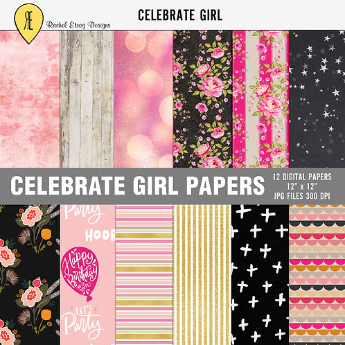 Celebrate Girl Papers