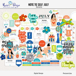 Note To Self July - Elements
