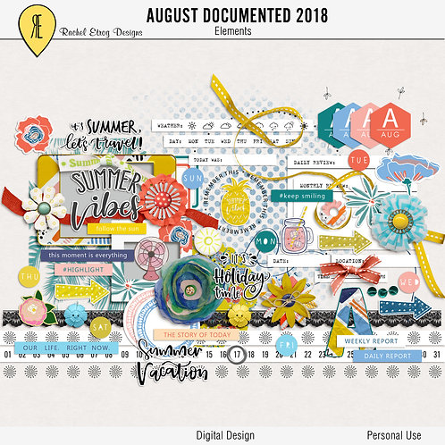 August Documented 2018 - Elements
