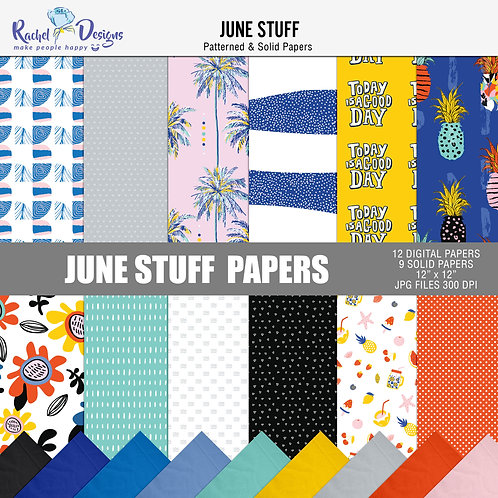 June Stuff - Papers