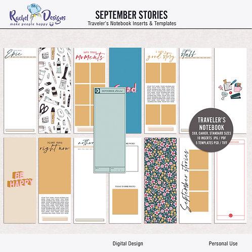 September Stories - Traveler's Notebook