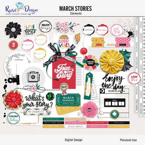 March Stories - Elements