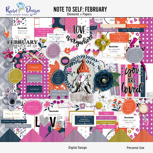 Note To Self February - Kit