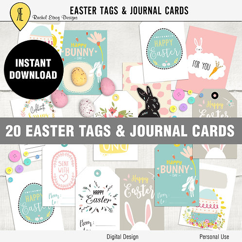 Easter Tags & Journal Cards