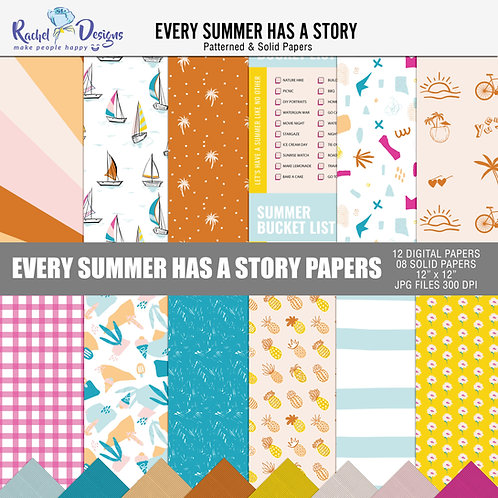 Every Summer Has A Story - Papers