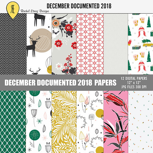 December Documented 2018 - Papers