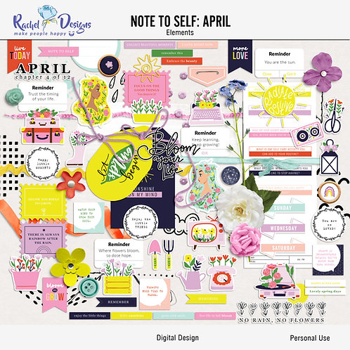 Note To Self April - Elements