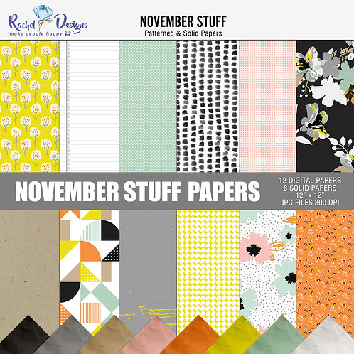 November Stuff - Papers