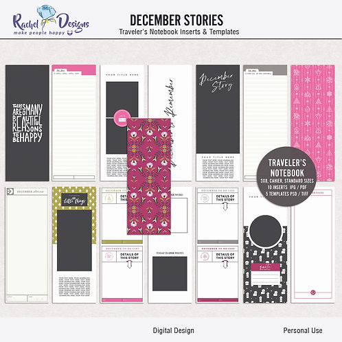 December Stories - Traveler's Notebook