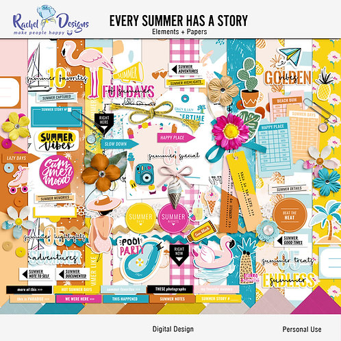 Every Summer Has A Story - Kit