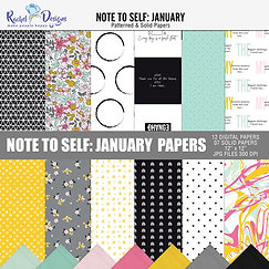 Note To Self January - Papers