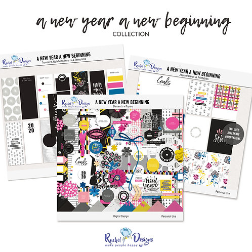 A New Year A New Beginning - Collection