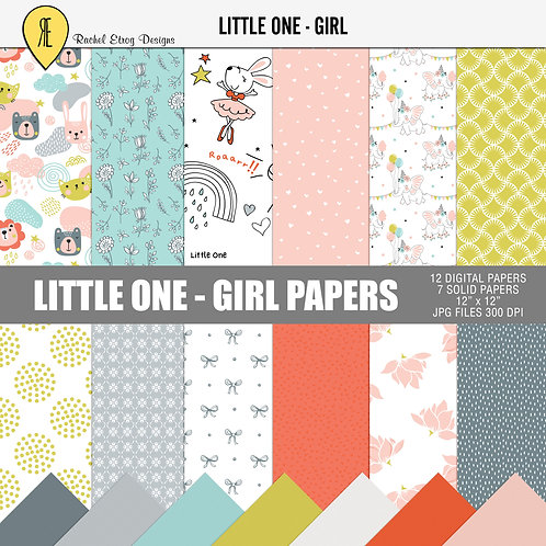 Little one Girl - Papers
