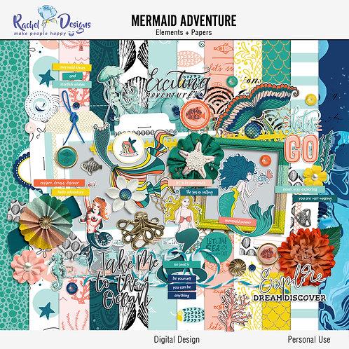 Mermaid adventure - Kit