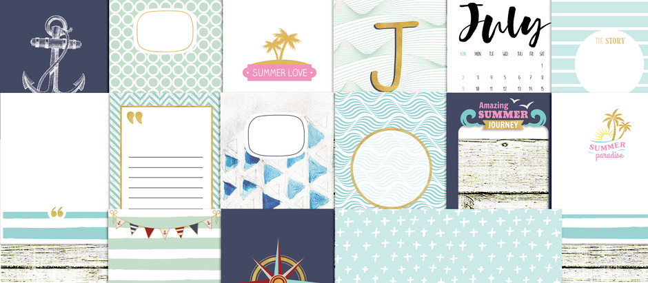 Win July documented journal cards