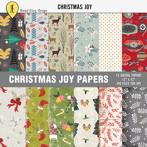 Christmas Joy Papers