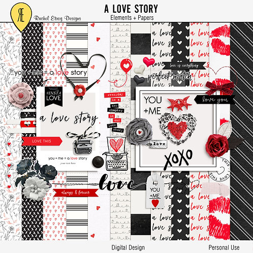 A Love Story Full Kit