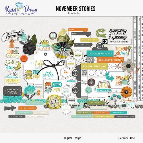 November Stories - Elements
