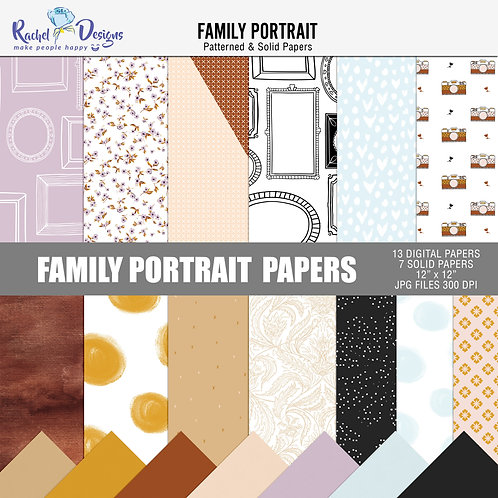 Family Portrait - Papers