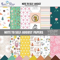 Note To Self August - Papers