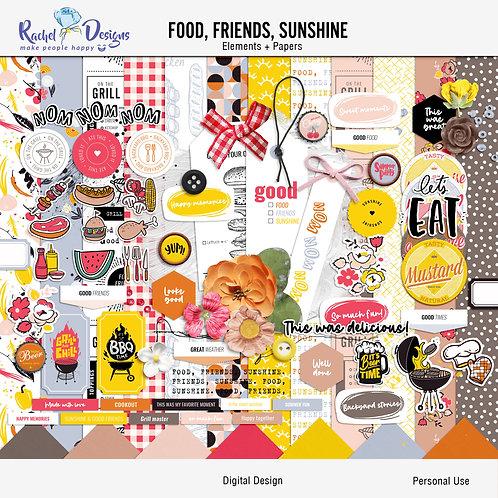 Food, Friends, Sunshine - Kit