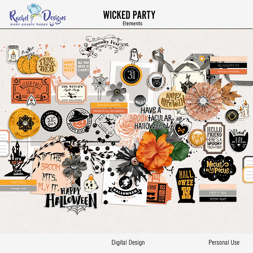Wicked Party - Elements
