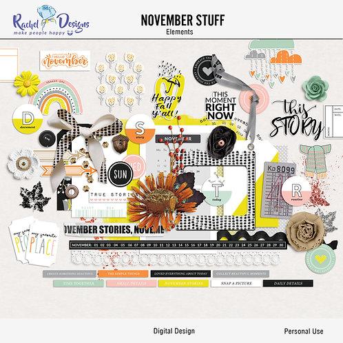November Stuff - Elements
