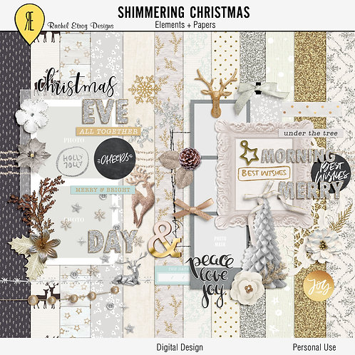 Shimmering Christmas Full Kit