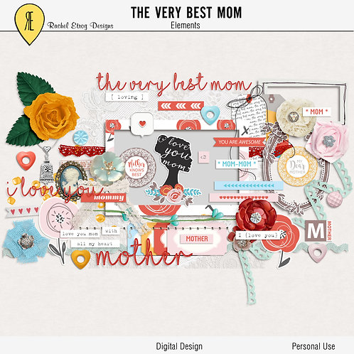 The very best mom - Elements