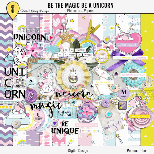Be the magic be a unicorn - Kit