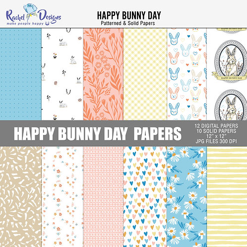Happy Bunny Day - Papers