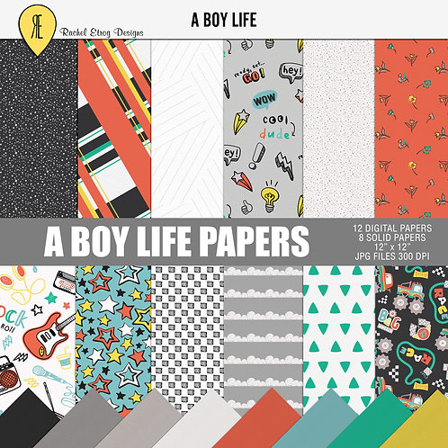 A Boy Life - Papers