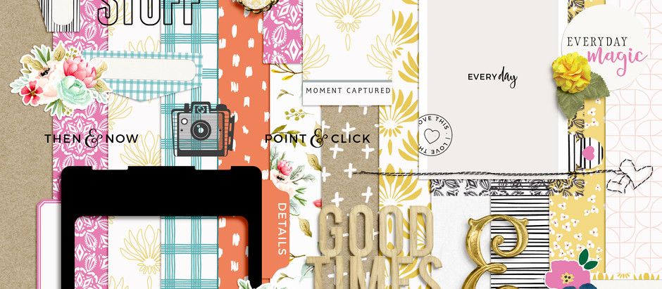 Shop Updade - Beautiful Life scrapbook kit & Journal Cards
