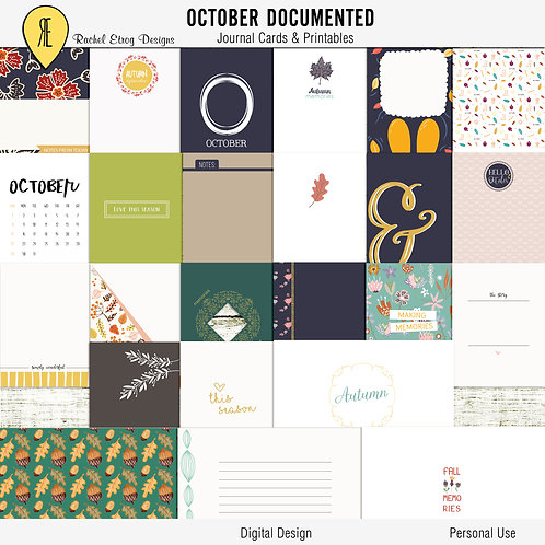 October Documented
