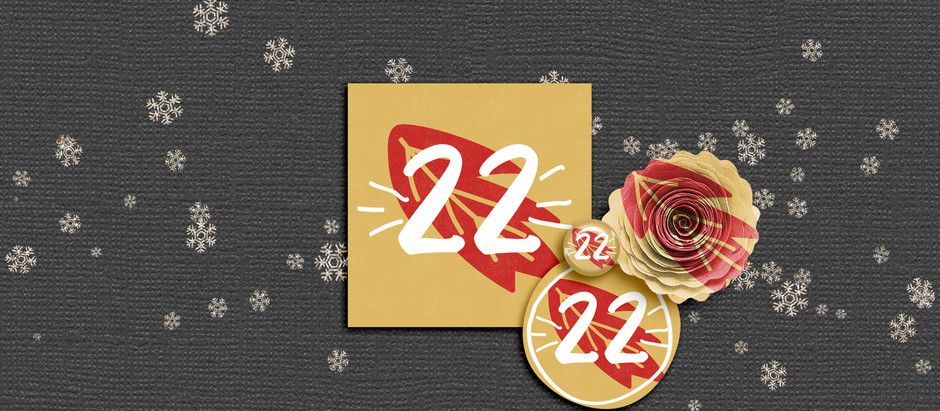 Advent christmas calender day 22