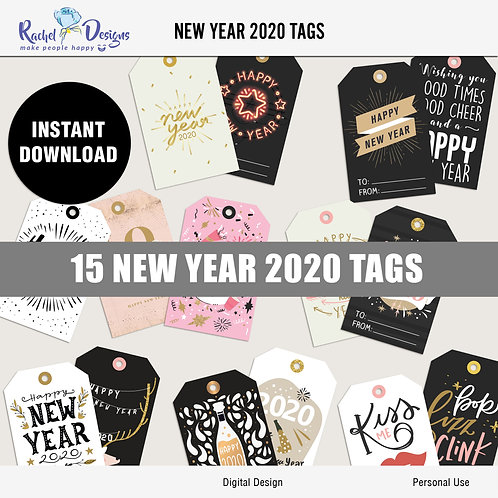 New Year 2020 - Tags