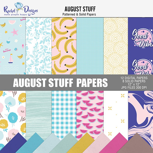 August Stuff - Papers