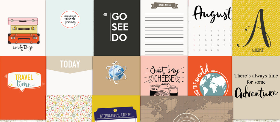 Win August documented journal cards
