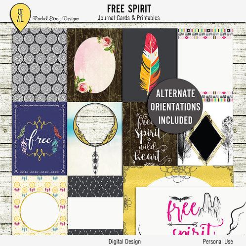 Free Spirit Journal Cards