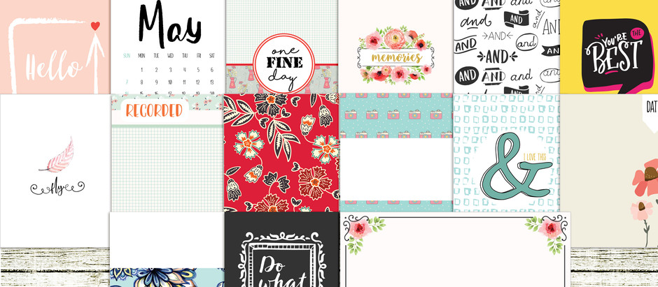 Win May documented journal cards