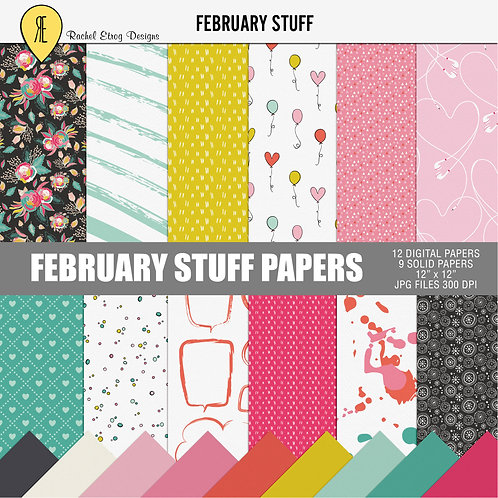 February Stuff - Papers