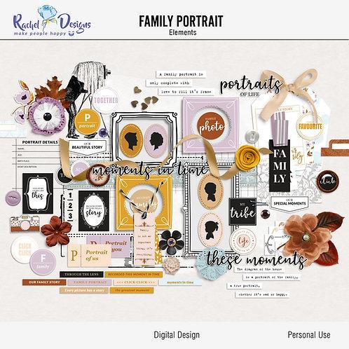 Family Portrait - Elements