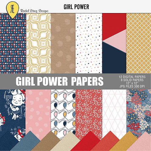 Girl Power - Papers