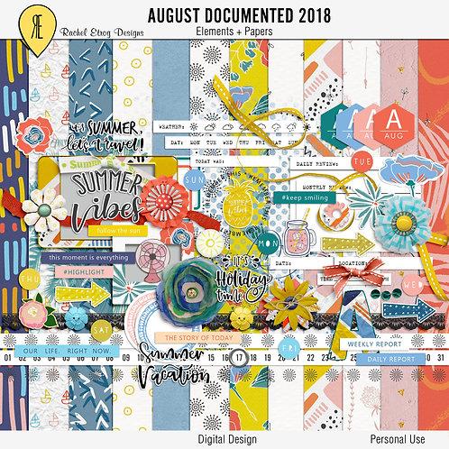 August Documented 2018 Full Kit